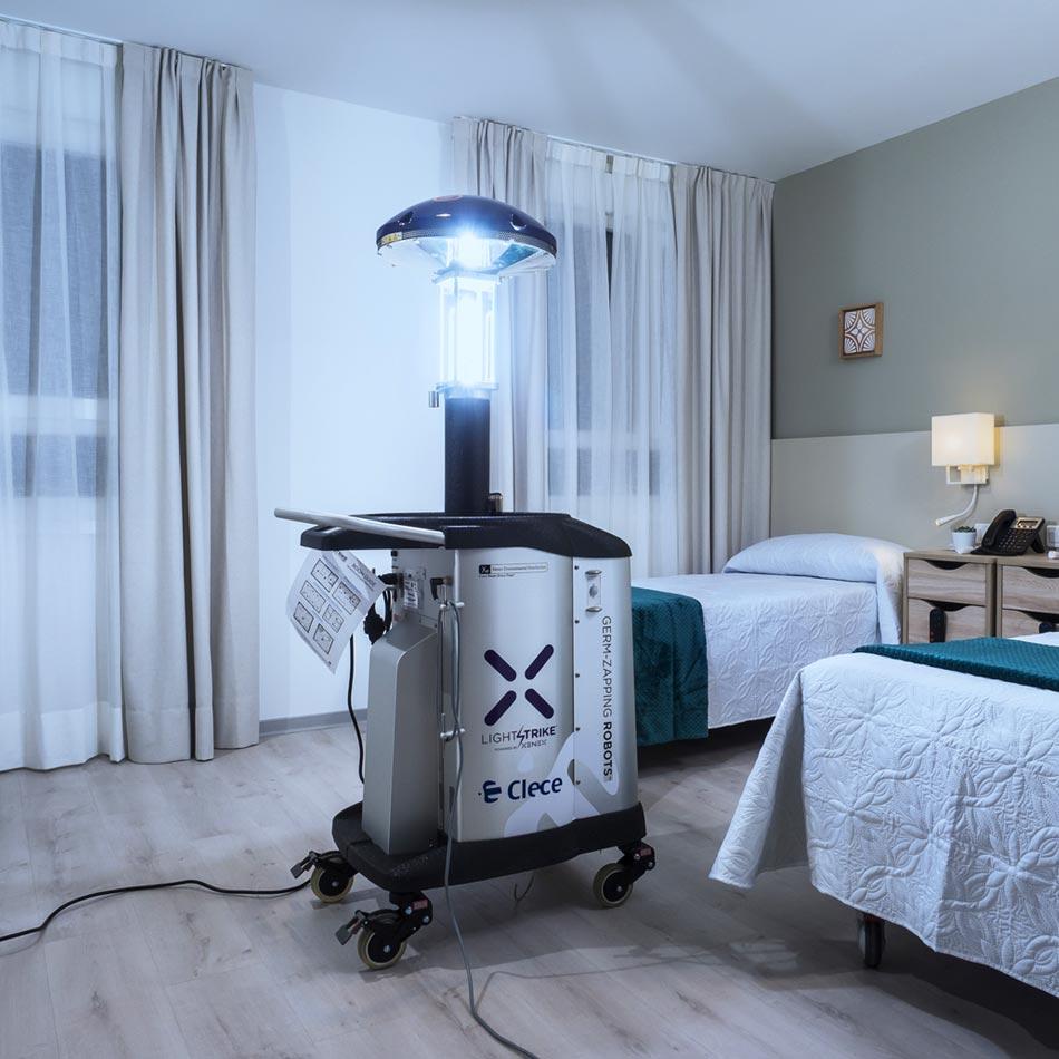 Robot desinfección Xenex Covid 19